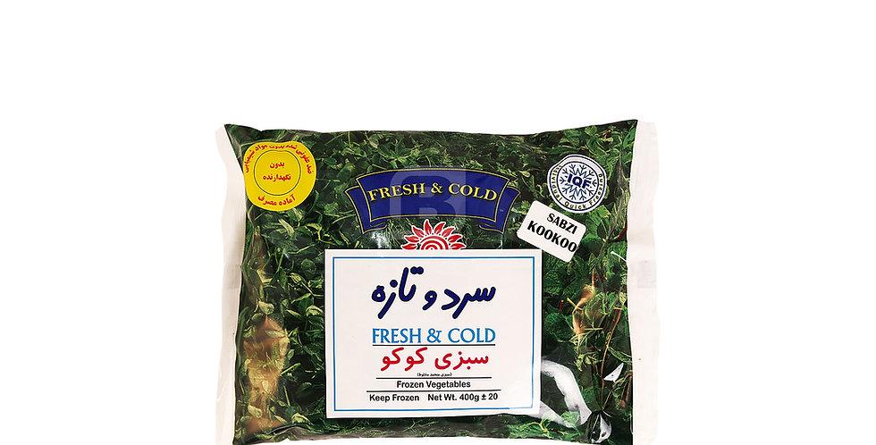 FRESH & COLD - Tk-Koukou - سبزی کوکو سرد و تازه