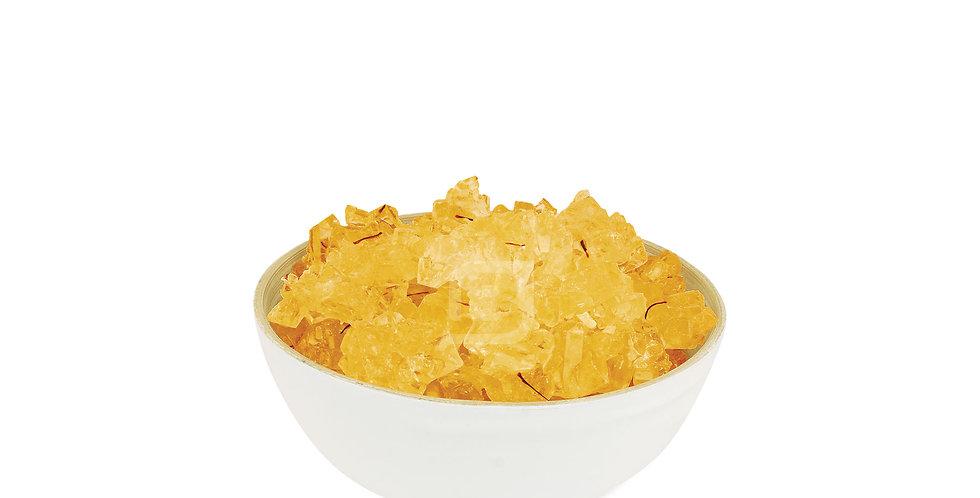 Kandis mit Saffron 3 Kg - نبات زعفرانی فله اعلاء ۳ کیلو گرم