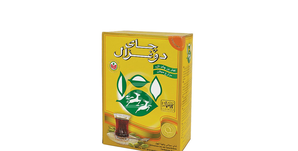 DO GHAZAL Kardamom Tee - چای هل دوغزال