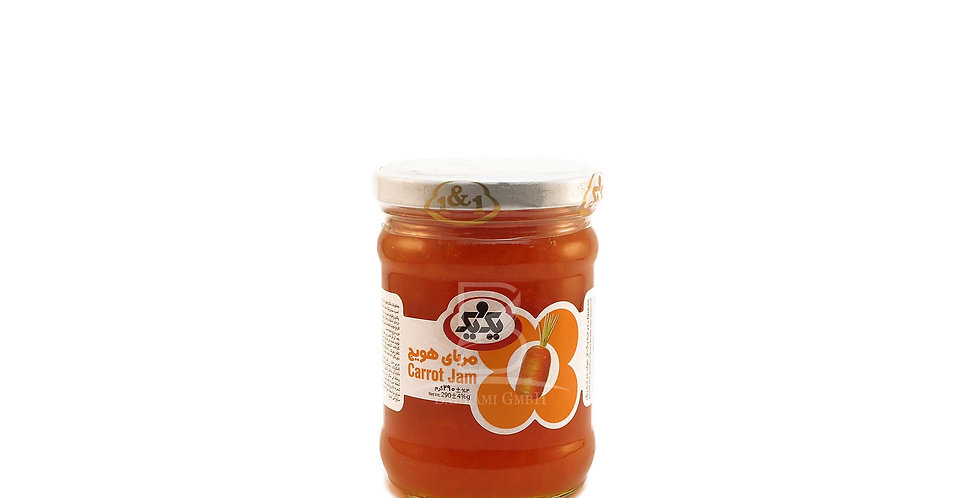1&1 - Karottenmarmelade - مربای هویج یک و یک