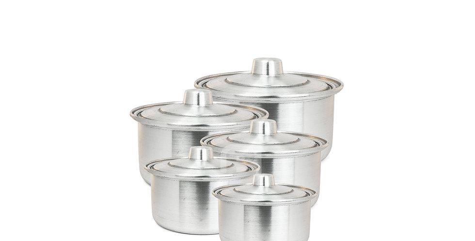 Aluminium Kochtopf, 5600 Kg - قابلمه آلومینیومی ۵/۶۰۰ کیلوگرم
