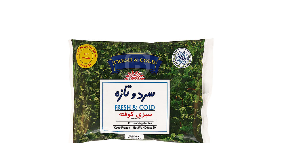 FRESH & COLD - Tk-Kufteh - سبزی کوفته سرد و تازه