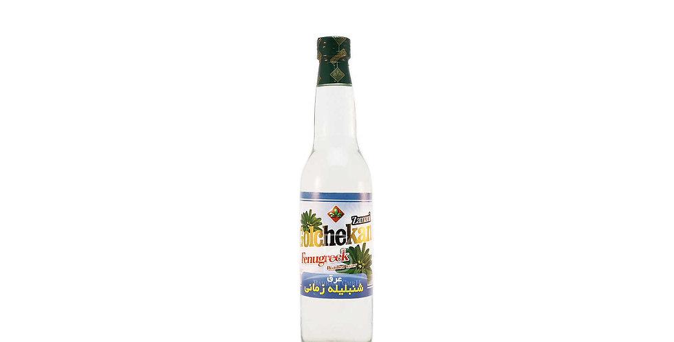 GOLCHEKAN - Bockshornklee destilliertes Wasser - عرق شنبلیله زمانی