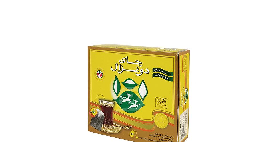 DO GHAZAL Kardamom Teebeutel - چای هل دوغزال تی بگ