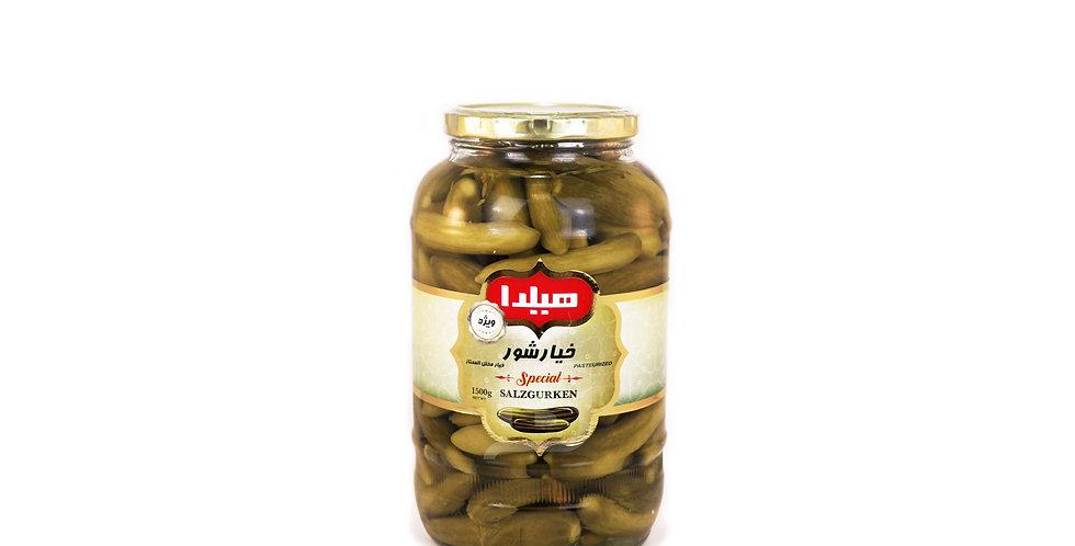 HILDA - Salzgurken 1500g Special - خیارشور ویژه هیلدا ۱۵۰۰ گرمی