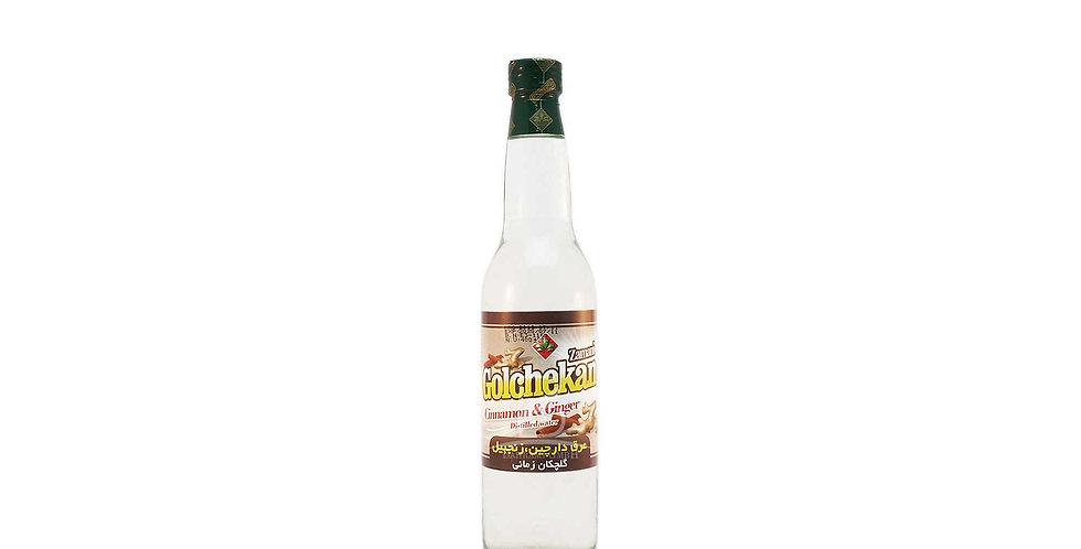 GOLCHEKAN - Zimt und Ingwer destilliertes Wasser - عرق دارچین، زنجبیل زمانی