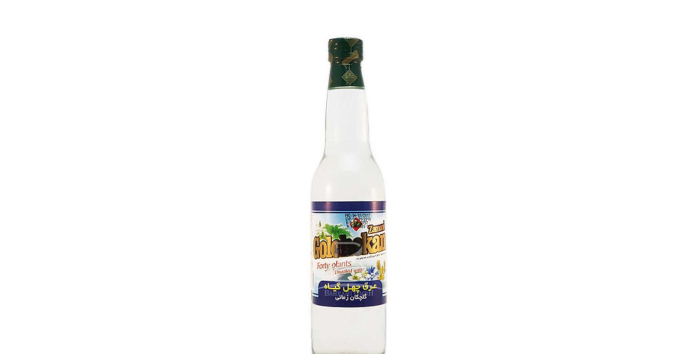 GOLCHEKAN - Vierzig Pflanzen destilliertes Wasser - عرق چهل گیاه زمانی