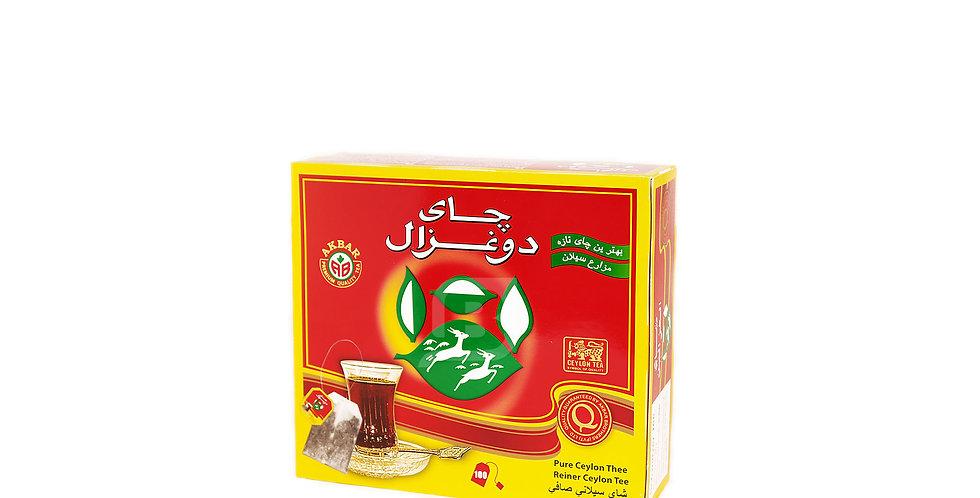 DO GHAZAL TEABAG - چای دوغزال قرمز تی بگ