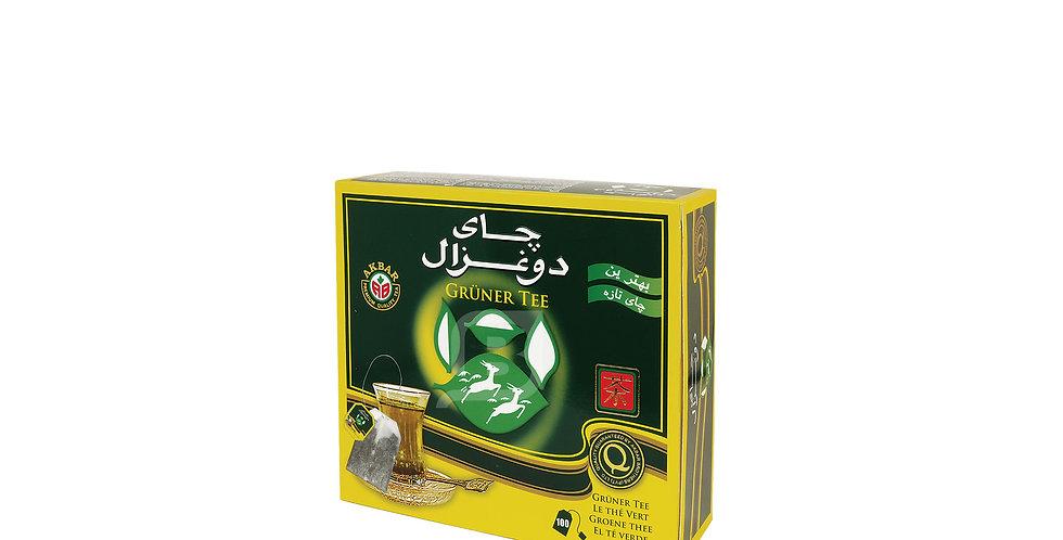 DO GHAZAL Grüner Teebeutel - چای سبز دوغزال تی بگ