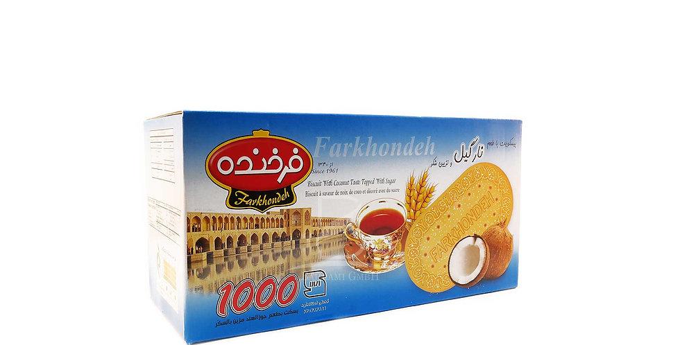 FARKHONDEH BISCUITS - Kokosnuss Geschmack - بیسکوئیت فرخنده با طعم نارگیل