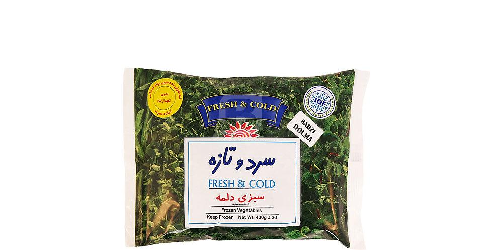FRESH & COLD - Tk-Dolmeh - سبزی دلمه سرد و تازه