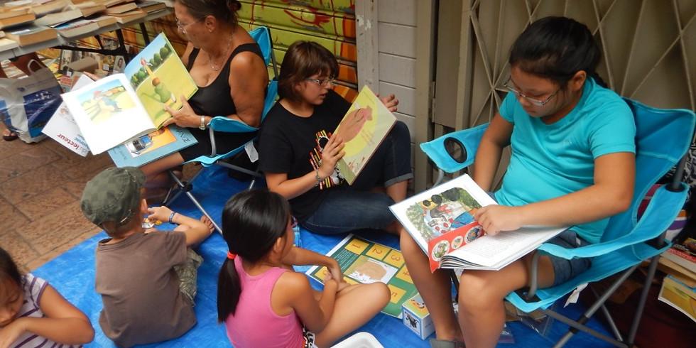 """Lire au quartier du commerce """"Partir en livre"""""""