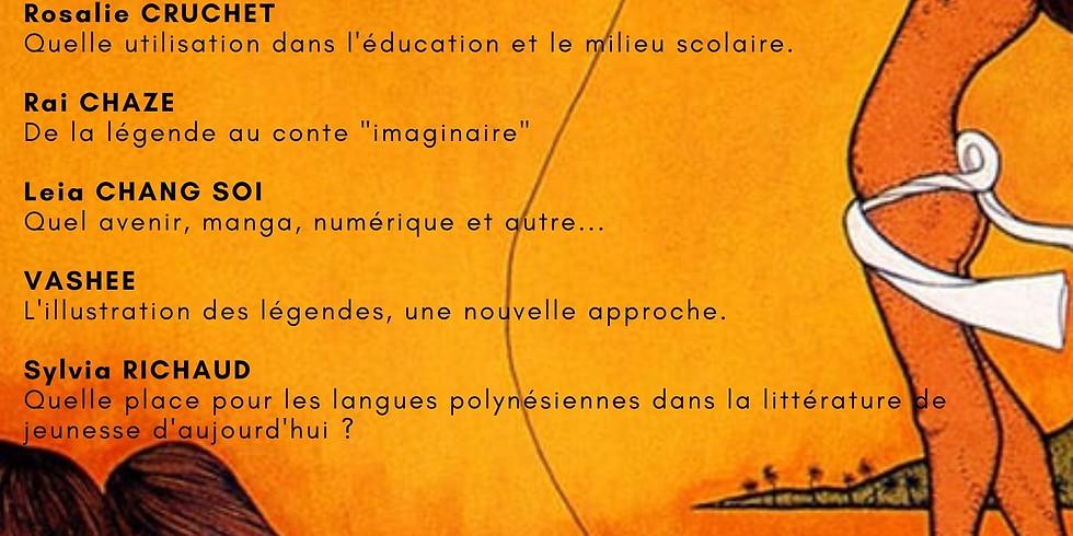 Soirée littéraire : Contes et légendes : Qu'en est-il de la littérature jeunesse en Polynésie ?