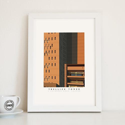 Trellick Tower London Fine Art Print