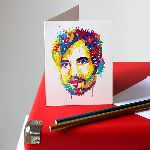 Caleb Followill Greetings Card
