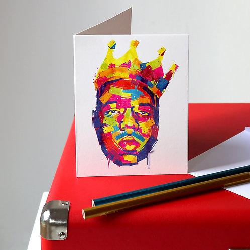Notorious B.I.G Greetings Card