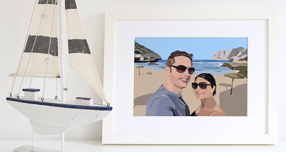 Photo wedding gift