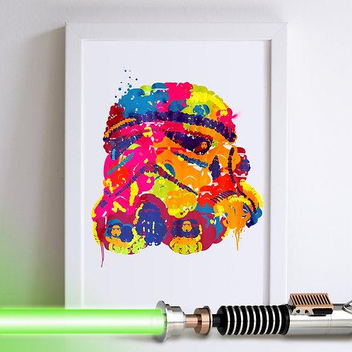 Storm Trooper Star Wars Art Print
