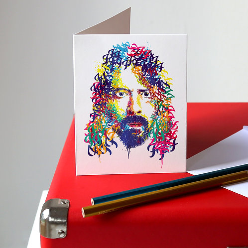 Dave Grohl Greetings Card