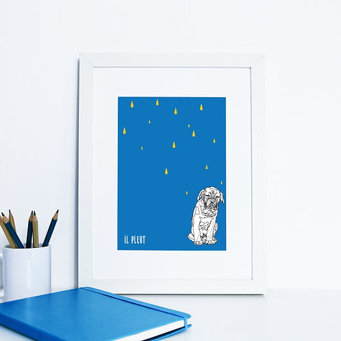 Dog de Bordeaux Art Print