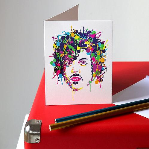 Prince Greetings Card