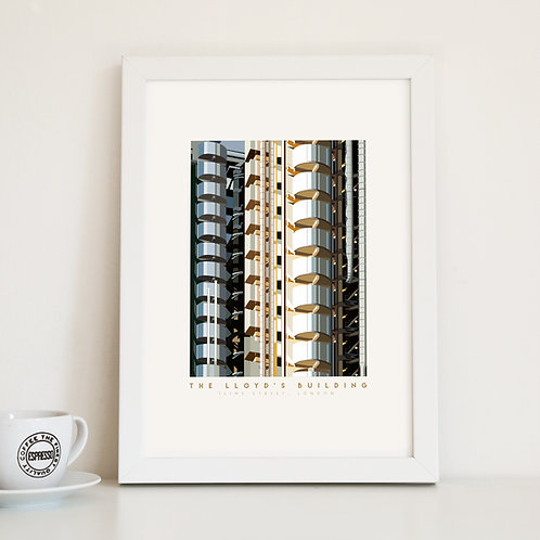 Lloyd's Building London Fine Art Print