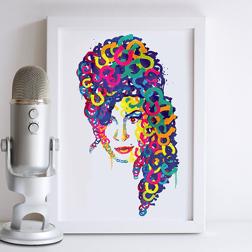 Amy Winehouse Print