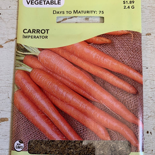 Seed - Carrot Imperator