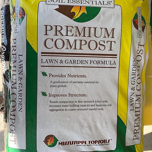 Compost - Soil Essentials lawn and garden 1 cf