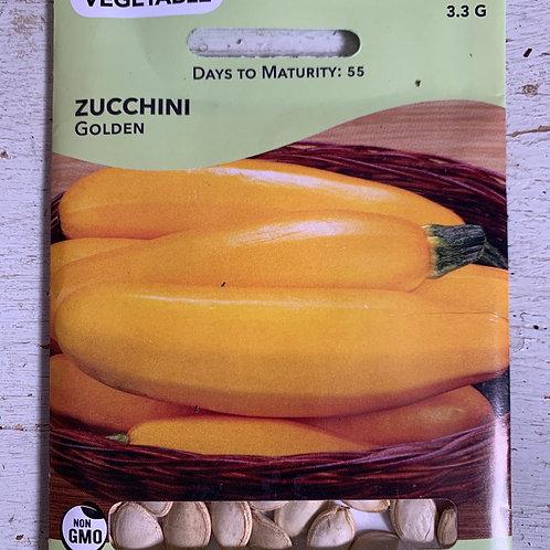 Seed - Zucchini Golden