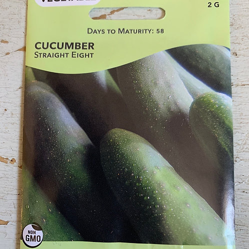 Seed - Cucumber Straight Eight