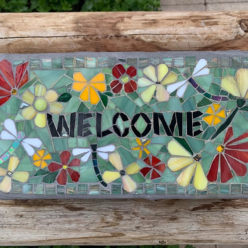 Garden Art - Welcome Bricks