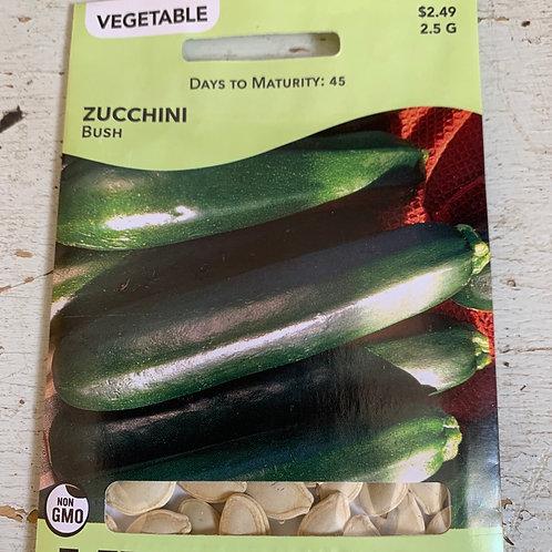 Seed - Zucchini Bush