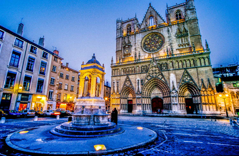 Lyon - Primatiale Saint Jean (5)