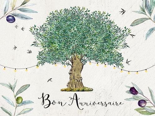 Carte fleuriste x 25 - Olivier en Provence