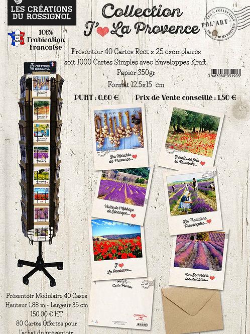 "Collection Polaroïd ""J'aime La Provence"""