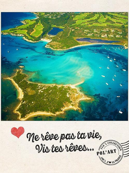 """12 Cartes Postales Collection """"J'aime la France"""""""