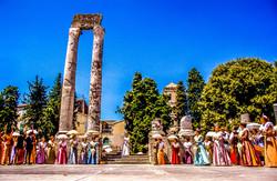 Arles - Théatre Antique - Fête du Costum