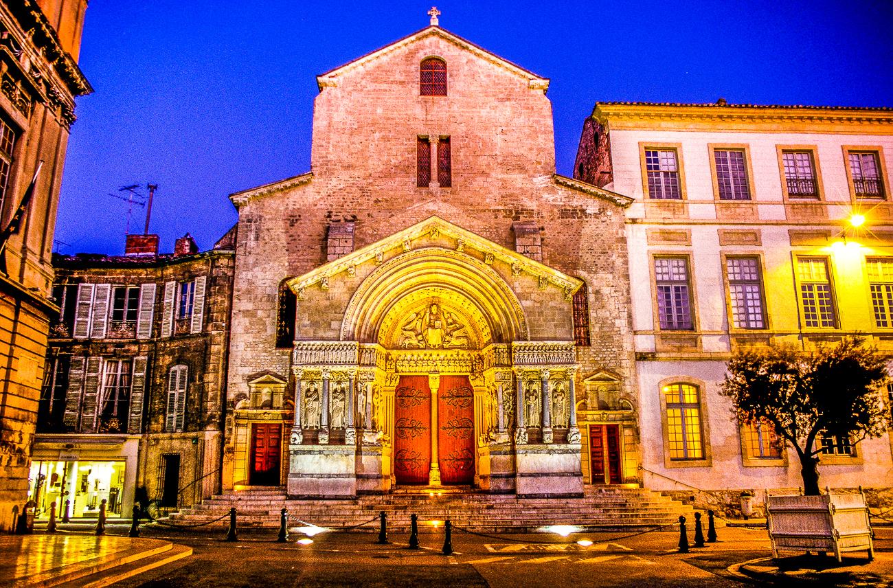 Arles - Saint Trophime - Nuit (2)