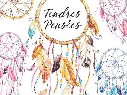 Carte fleuriste x 25 - Attrape Rêves