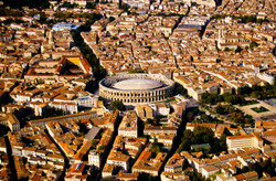 Nîmes - Arênes - Vue Aérienne (4)-2_01