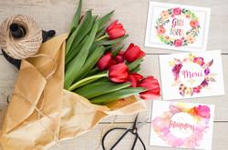 cartes messages fleuristes10