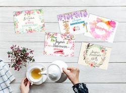 cartes messages fleuristes3