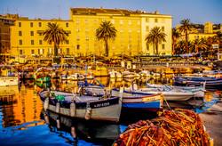 Corse - Ajaccio - Port - Lever du Soleil