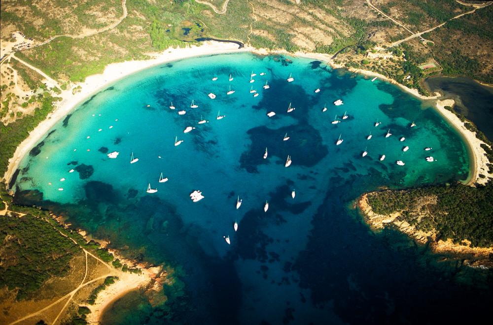 Le sud de la Corse en ULM