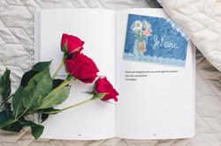 cartes message fleuriste