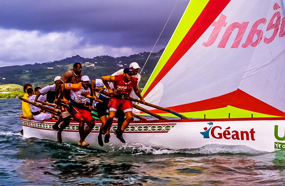 Martinique - Course de Yole au Robert (2