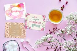 cartes messages fleuristes11