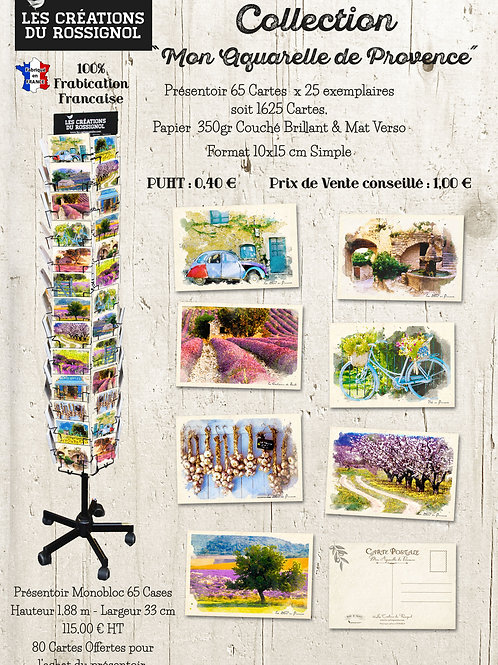 "Collection  ""Mon aquarelle de Provence"""