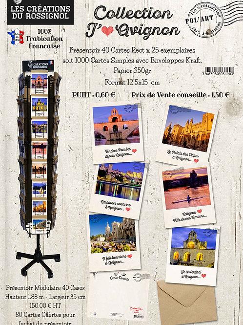 """Collection Polaroïd """"J'aime Avignon"""""""